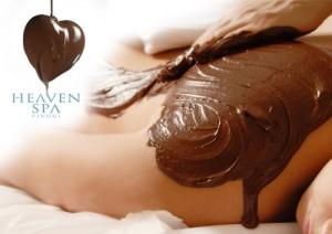 Pacchetto benessere con massaggio al cioccolato Cuore fondente