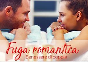 Massaggio di coppia, pacchetto Fuga romantica