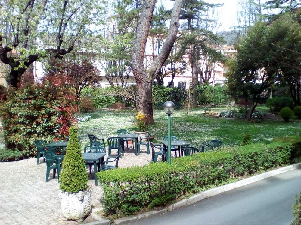 Hotel con giardino Fiuggi