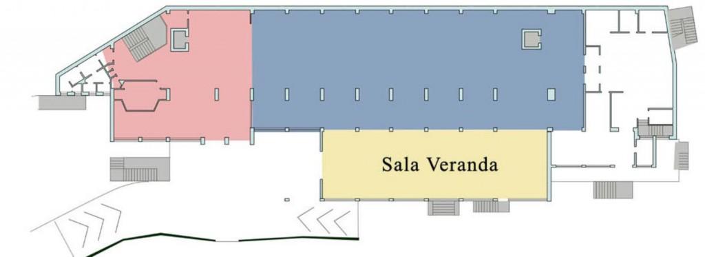 planimetria Sala Veranda