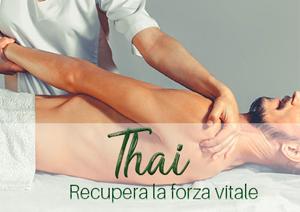 Pacchetto benessere con massaggio Thailandese